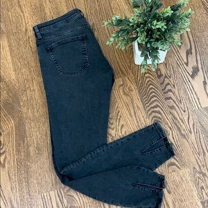 Zara Faded Black Skinny Jeans